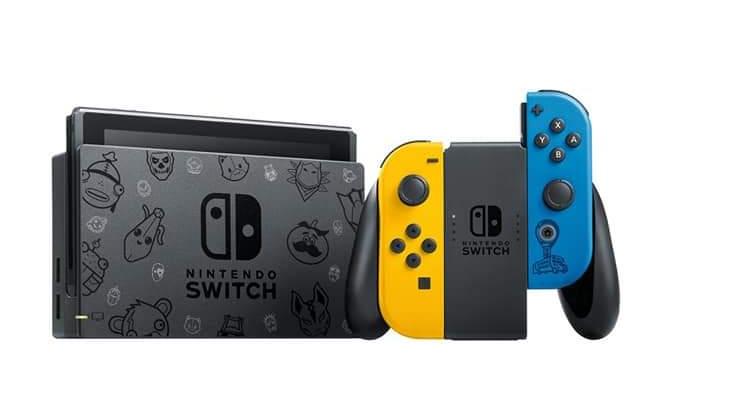 Nintendo anuncia o Nintendo Switch Fortnite Special Edition para a Europa, bundle personalizado com código para resgatar V-Bucks e skins exclusivas