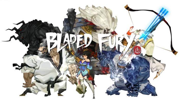 Side-scrolling de ação Bladed Fury chega em 22 de janeiro de 2021 no Nintendo Switch