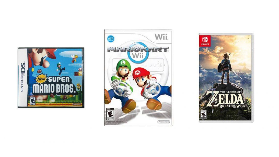 NPD: Top 10 jogos mais vendidos de todos os tempos nas plataformas Nintendo nos EUA