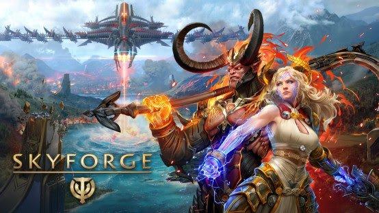 MY.GAMES anuncia o MMORPG Free-to-play Skyforge para o Nintendo Switch