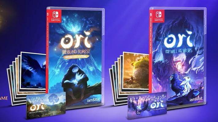 Edição física regular de Ori and the Blind Forest: Definitive Edition e Ori and the Will of the Wisps chegam em 08 de dezembro no Nintendo Switch