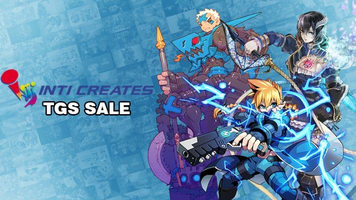 Inti Creates TGS Sale   Aproveite até 80% de desconto na eShop em jogos como Azure Striker Gunvolt: Striker Pack, Bloodstained: Curse of the Moon 1 e 2, Gal Gun 2, e mais