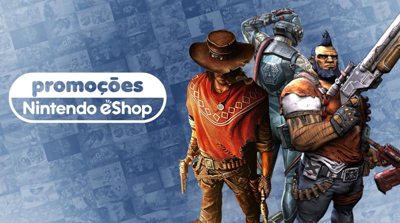 Promoções na eShop da América do Norte – The Outer Worlds, Call of Juarez: Gunslinger, Vampyr, e muito mais
