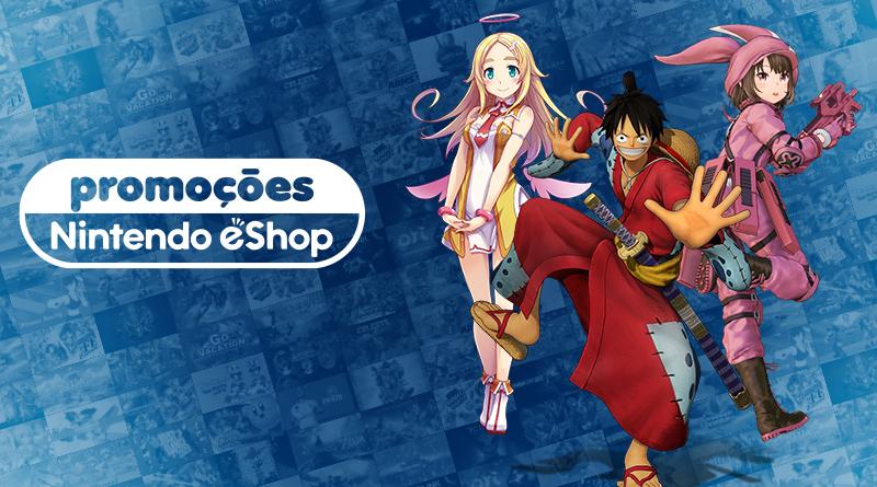 Promoções na eShop da América do Norte – Gal Gun 2, Undertale, Fury, jogos da Bandai Namco, e muito mais
