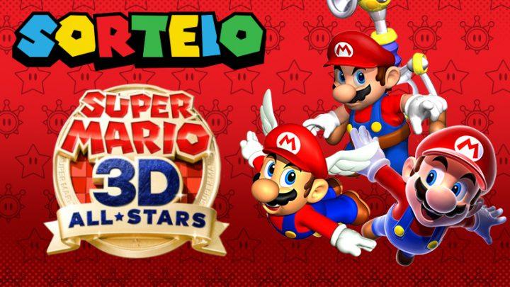 Sorteio – Concorra a uma cópia digital de Super Mario 3D All-Stars