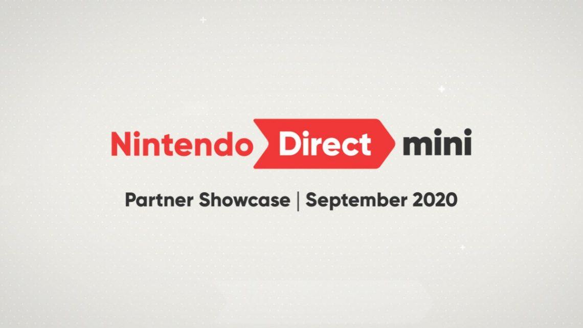 Nintendo anuncia nova apresentação do Nintendo Direct mini: Partner Showcase para 17 de setembro