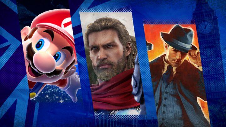 Reino Unido: Top 40 jogos mais vendidos entre os dias 20 e 26 de setembro
