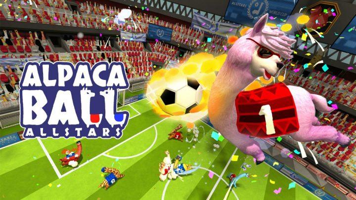 Caótico jogo party Alpaca Ball: Allstars chega ao Nintendo Switch em 05 de novembro