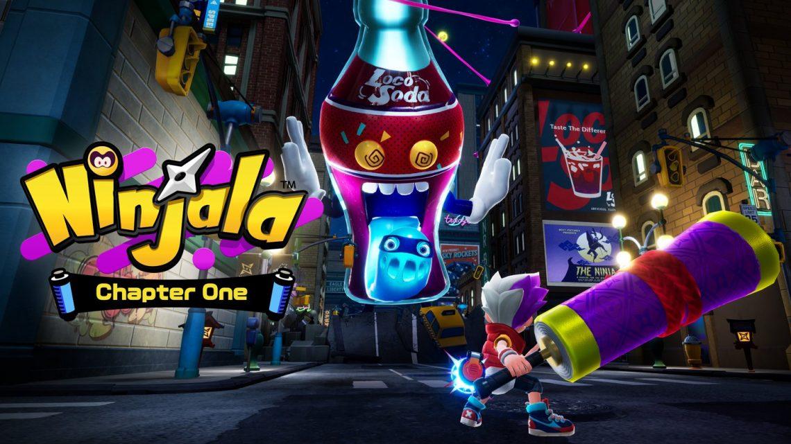 Ninjala | Story Pack 01 está com 90% de desconto na eShop por tempo limitado