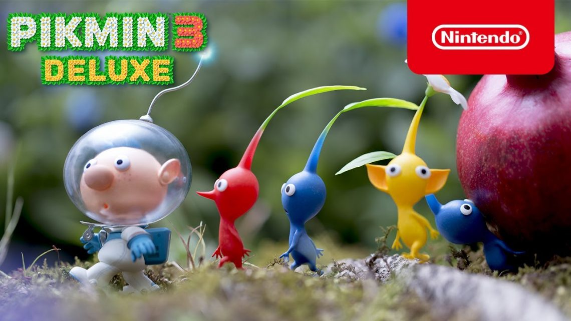 "Pikmin 3 Deluxe   Novo trailer ""Meet the Pikmin"""
