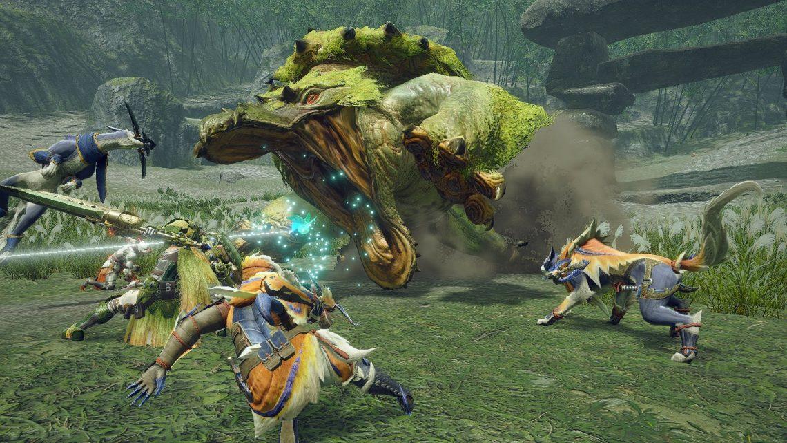 Monster Hunter Rise não terá chat de voz nativo e nem será compatível com chat de voz do app Nintendo Switch Online, será possível pular as cutscenes