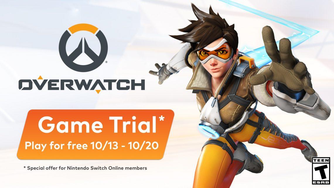 Game Trials | Overwatch estará gratuito por tempo limitado para os membros do Nintendo Switch Online na América do Norte