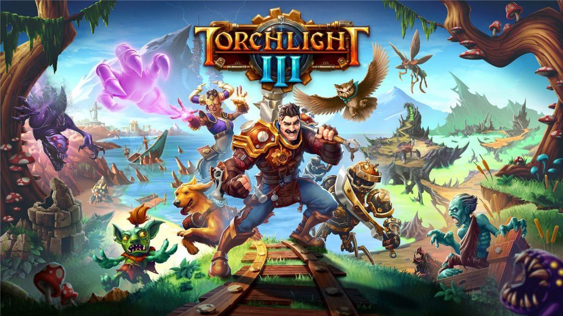 RPG de ação Torchlight III chega em 22 de outubro no Nintendo Switch