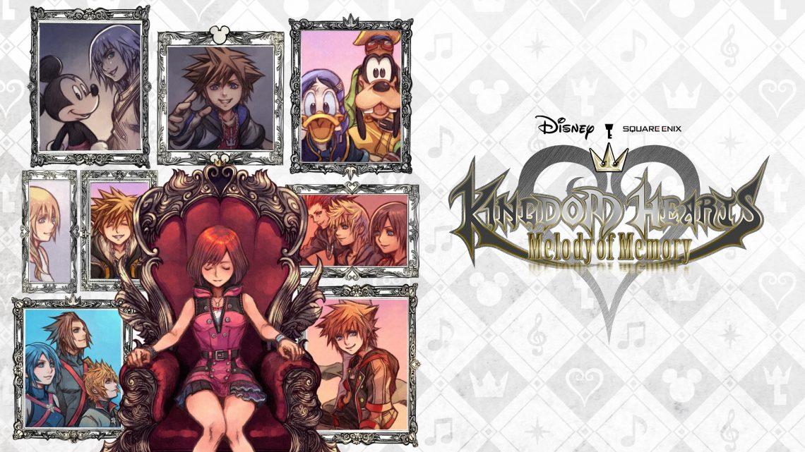 Demo de Kingdom Hearts: Melody of Memories será disponibilizada ainda hoje na eShop do Nintendo Switch