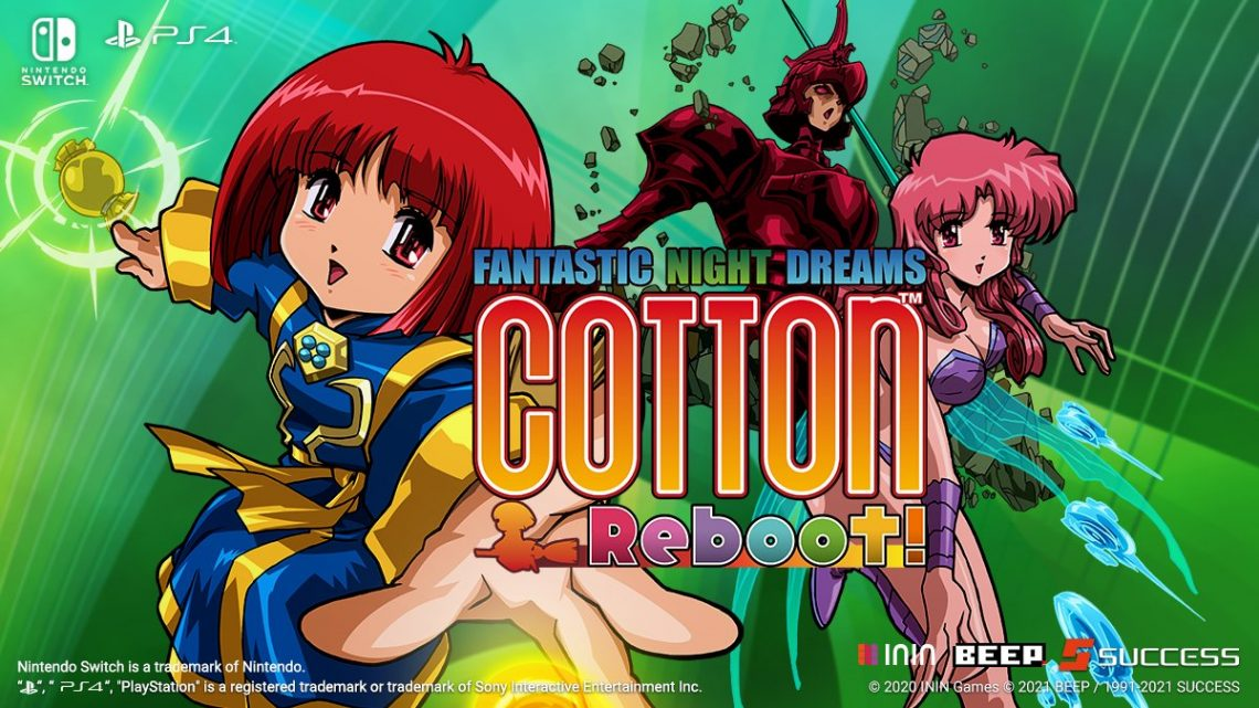 Shoot 'em up Cotton Reboot! chegará ao ocidente no início de 2021 pela ININ Games