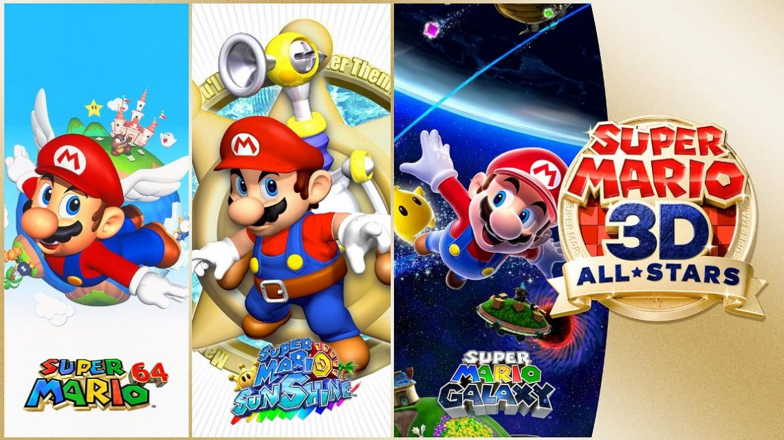 Super Mario 3D All-Stars ganhará atualização que dará a opção de inverter a câmera nos três jogos