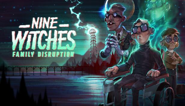 Jogo cômico de aventura Nine Witches: Family Disruption chega ao Nintendo Switch em 04 de dezembro