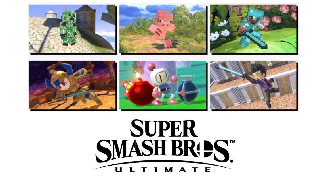 Super Smash Bros. Ultimate | Revelado novas roupas de Mii Fighters baseados em Travis Touchdown, Bomberman, Gil de Tower of Druaga, e mais