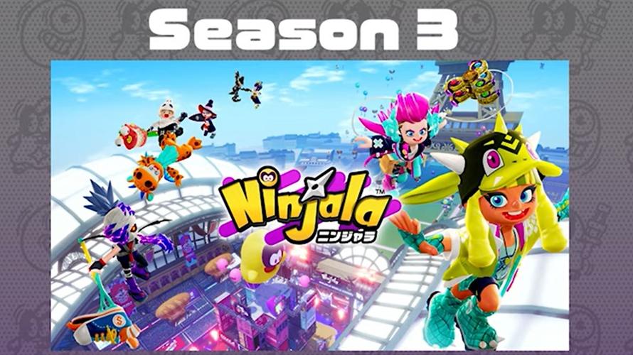 Ninjala | Season 3 começa a partir de 28 de outubro, revelado colaboração com Kyary Pamyu Pamyu, novas armas, estágios, e mais