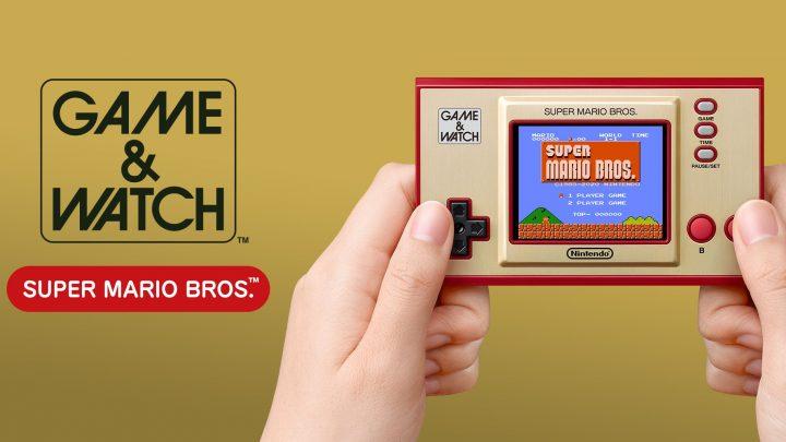 Nintendo afirma que o Game & Watch: Super Mario Bros. será continuamente enviado às lojas até 31 de março de 2021