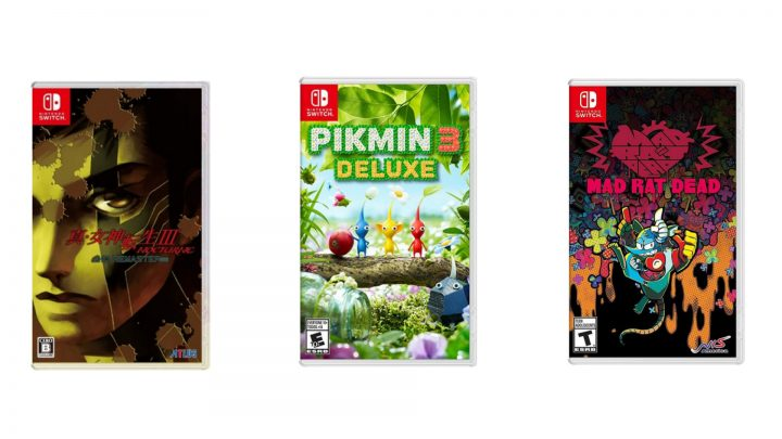 Jogos em formato físico da semana | Pikmin 3 Deluxe, Shin Megami Tensei III: Nocturne HD Remaster, Mad Rat Dead, e mais