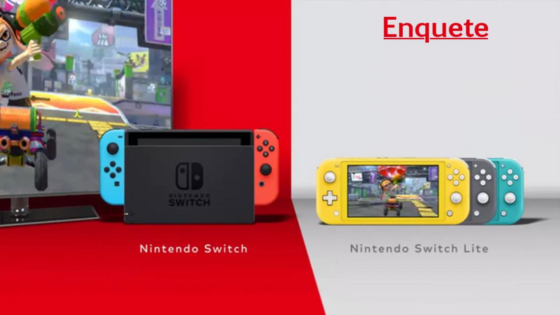 Enquete: Em qual modo você mais joga no Nintendo Switch?
