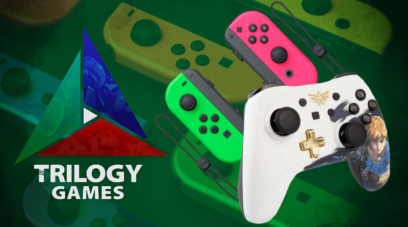 Dica: Procurando um Nintendo Switch ou acessórios? Dê uma olhada no catálogo de nossa loja parceira Trilogy Games