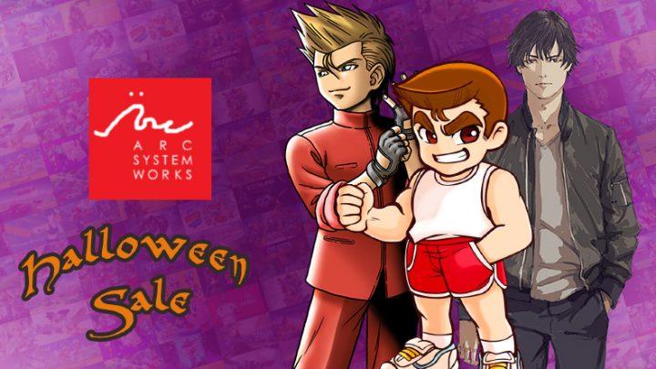 Arc System Works Halloween Sale | Descontos de até 88% na eShop em jogos como Alternate Jake Hunter: Daedalus The Awakening of Golden Jazz, jogos da série River City e Double Dragon, e mais