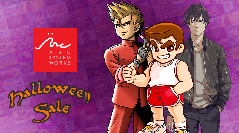 Arc System Works Halloween Sale | Descontos de até 88% na eShop em jogos como Alternate Jake Hunter: Daedalus The Awakening of Golden Jazz, jogos da série River City e Double Dragon, e mais