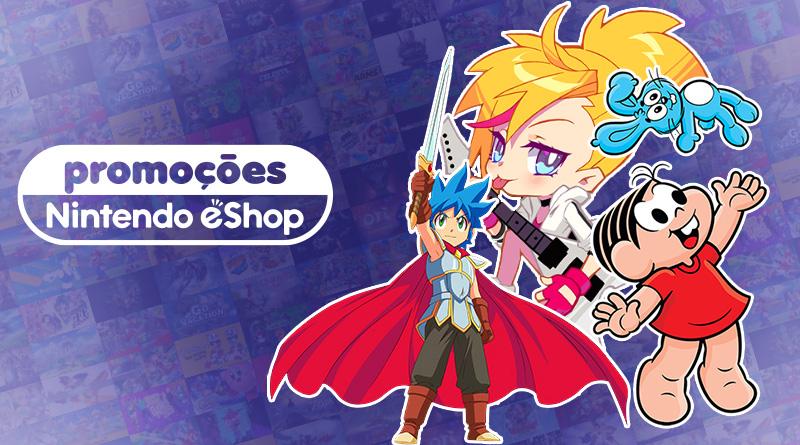 Promoções na eShop da América do Norte | Muse Dash, Turma da Mônica e a Guarda dos Coelhos, Monster Boy and the Cursed Kingdom, Untitled Goose Game, e mais