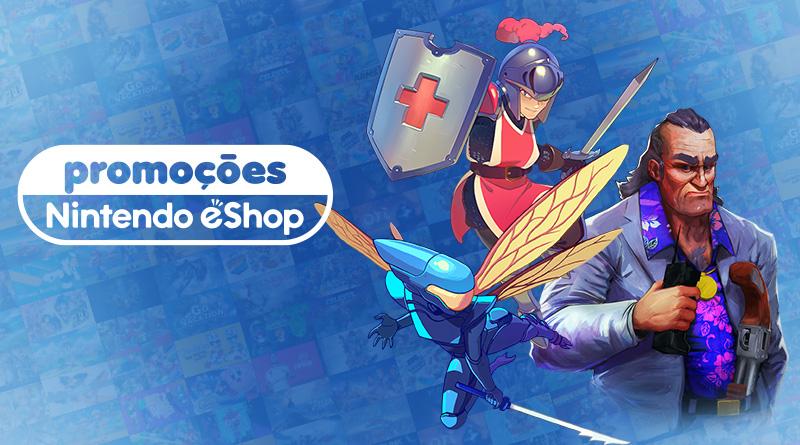 Promoções na eShop da América do Norte – Slayn 2, Shakedown: Hawaii, Killer Queen Black, Aragami: Shadow Edition, e mais