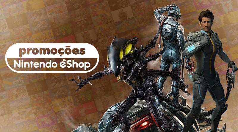 Promoções na eShop da América do Norte | Alien: Isolation, The Outer Worlds, Starlink: Battle for Atlas, jogos de Mega Man, e muito mais