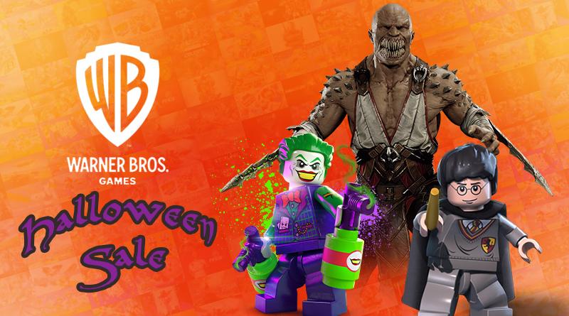 Warner Bros. Games Halloween Sale | Aproveite até 75% de desconto na eShop em jogos como Mortal Kombat 11, jogos de LEGO, Scribblenauts Showdown e mais