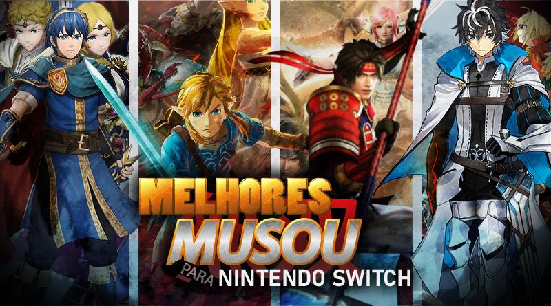 Curte jogos Musou? Conheça então os melhores títulos do gênero no Nintendo Switch