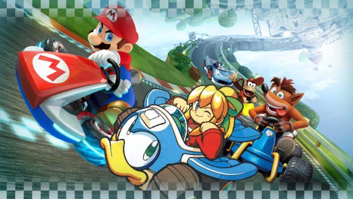 Os 5 melhores clones de Mario Kart