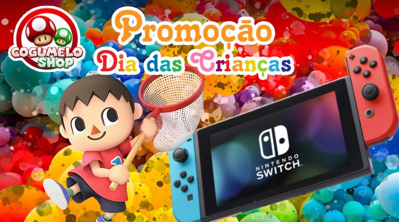 Cogumelo Shop: Promoção Dia das Crianças