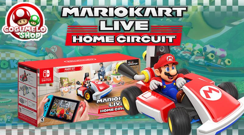 Dica: Compre Mario Kart Live: Home Circuit na Cogumelo Shop