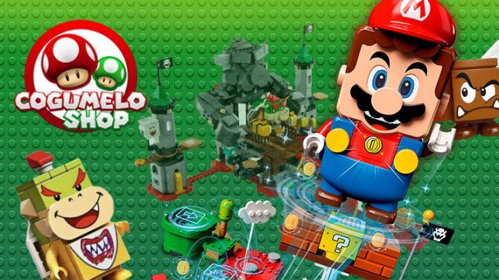 Dica: Cogumelo Shop agora é revendedora autorizada de LEGO Super Mario; Confira os itens disponíveis