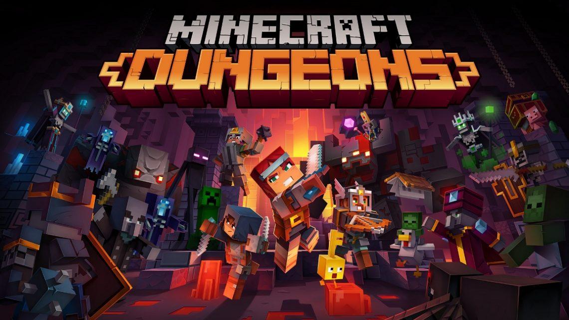 Minecraft Dungeons receberá suporte ao Cross-play em novembro, nova DLC Howling Peaks chega em dezembro