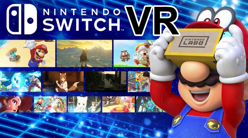 Sete jogos do Nintendo Switch que podem ser jogados em Realidade Virtual