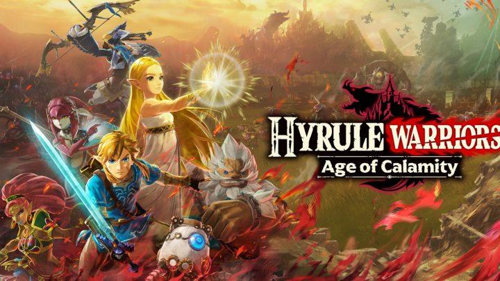 Loja Nintendo Brasil: Pré-compra de Hyrule Warriors: Age of Calamity domina o ranking; Top-10 títulos mais baixados