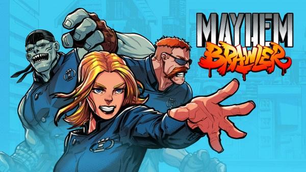 Hero Concept anuncia o beat 'em up com tema de fantasia urbana Mayhem Brawler para o Nintendo Switch