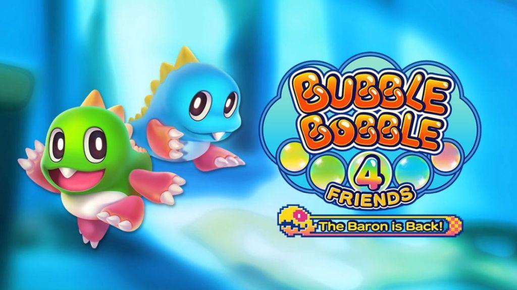Bubble Bobble 4 Friends: The Baron is Back chega em 17 de novembro no Ocidente
