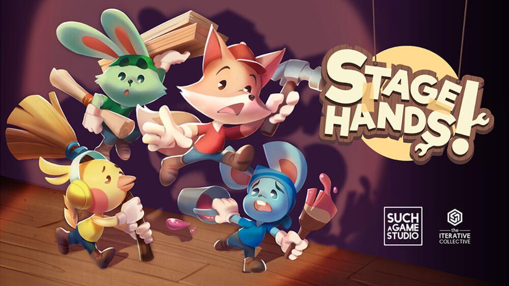 The Iterative Collective anuncia o jogo cooperativo de sofá Stagehands! para o Nintendo Switch