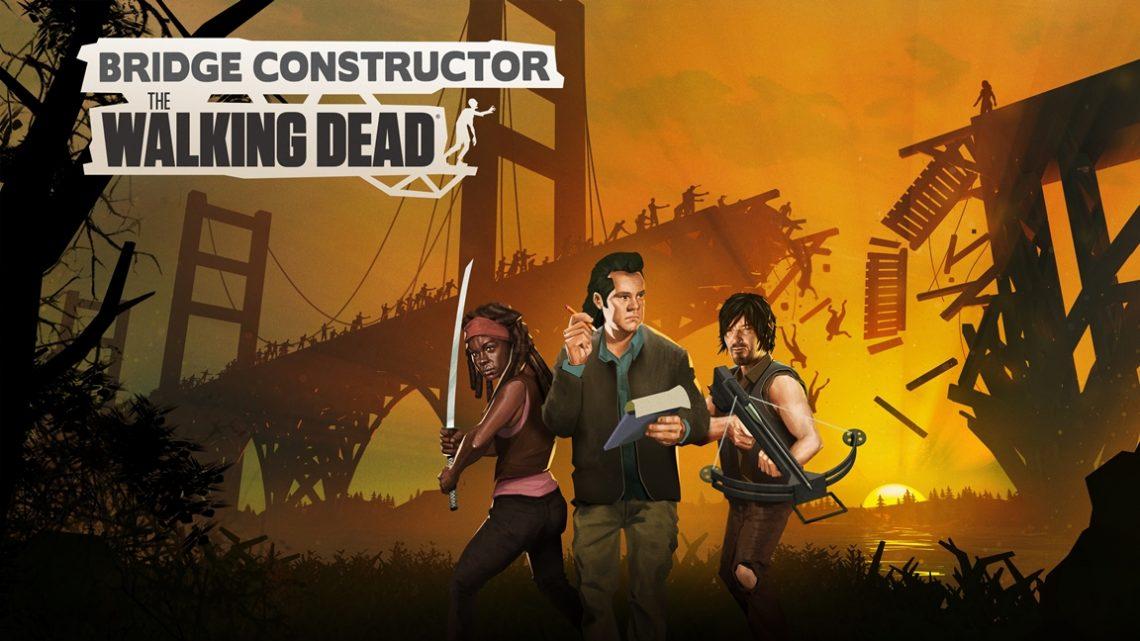 Bridge Constructor: The Walking Dead chega em 19 de novembro através da eShop do Nintendo Switch