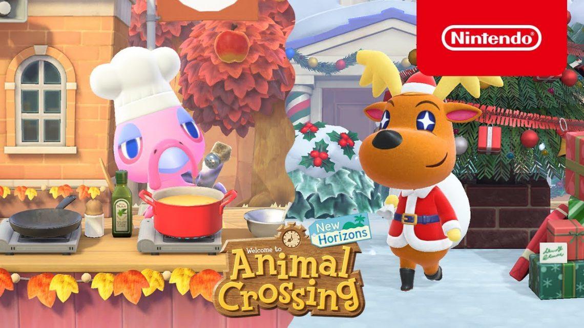 Animal Crossing: New Horizons | Atualização de inverno chega em 19 de novembro, adiciona clima de inverno, novos eventos, reações e estilos de cabelos, e mais
