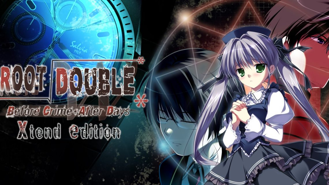 Visual novel Root Double: Before Crime After Days Xtend Edition chega em 26 de novembro através da eShop do Nintendo Switch