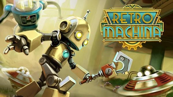 Super.com anuncia o jogo de ação e quebra-cabeças retro-futurista Retro Machina para o Nintendo Switch