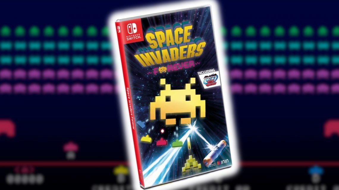 Space Invaders Forever chega ao Nintendo Switch em 11 de dezembro, trailer