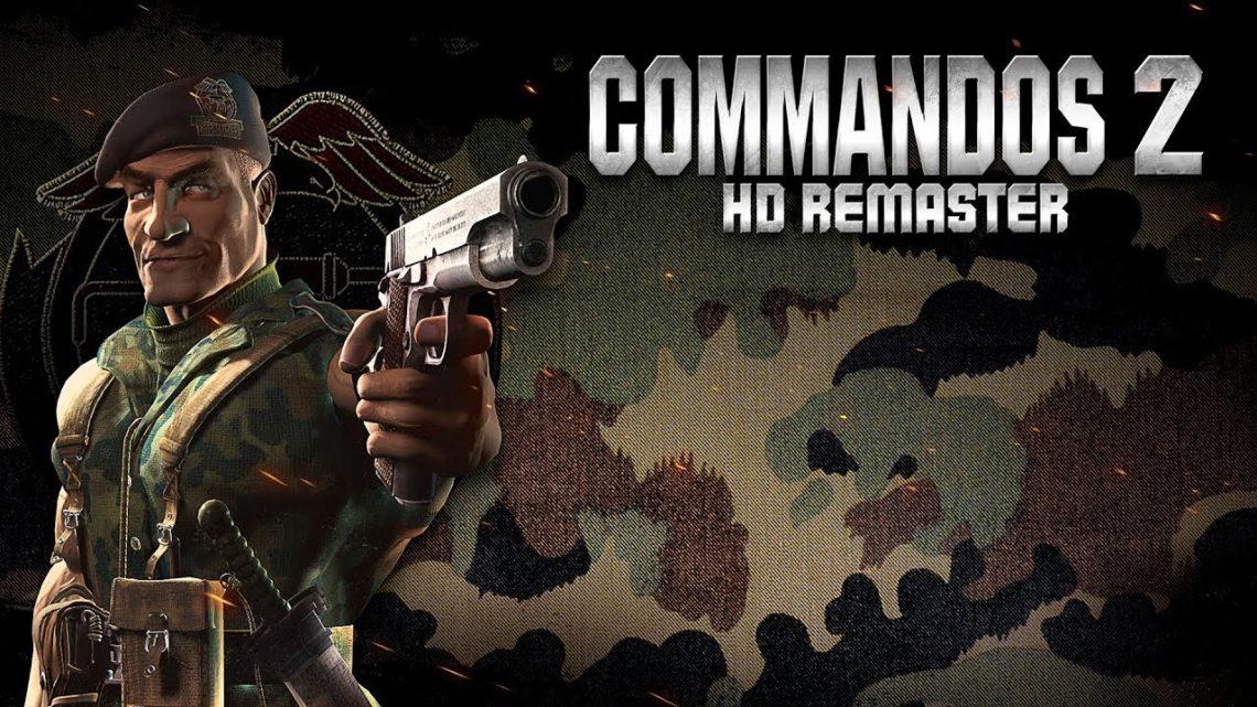 Jogo tático em tempo real Commandos 2 HD Remaster chega em 04 de dezembro no Nintendo Switch